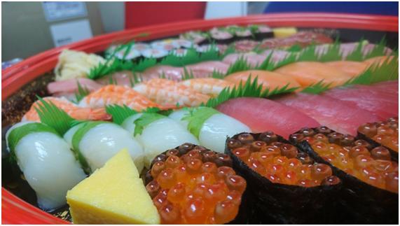★達成会お寿司★